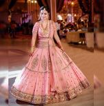 Fantastic Bridal Wear Embroidery & Sequin Work Lehenga Choli